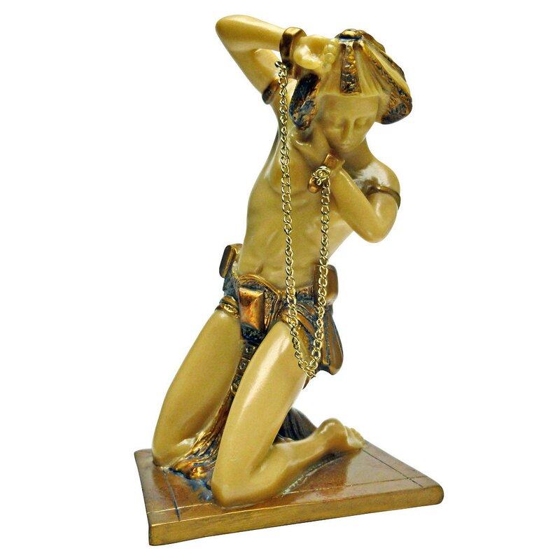 Design Toscano Chained Bondage Art Deco Statue & Reviews | Wayfair