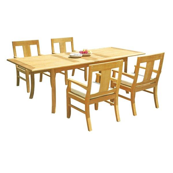 Osborne 5 Piece Teak Dining Set by Teak Smith