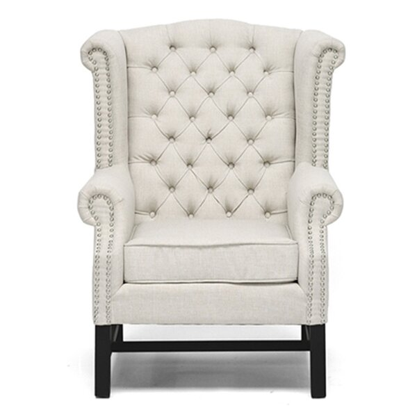 Reasor Wingback Chair (Set of 2) by Charlton Home