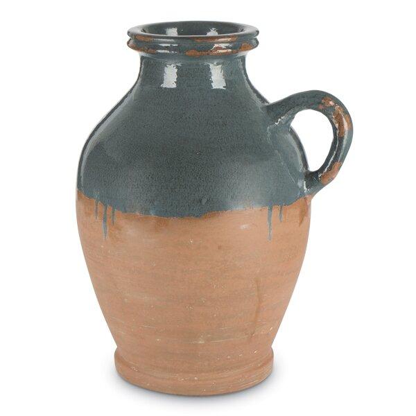 Morales Taper Terracotta Table Vase by Breakwater Bay
