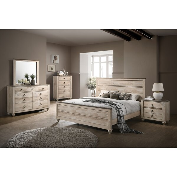Manzano Panel 4 Piece Bedroom Set (Set of 4) by Gracie Oaks