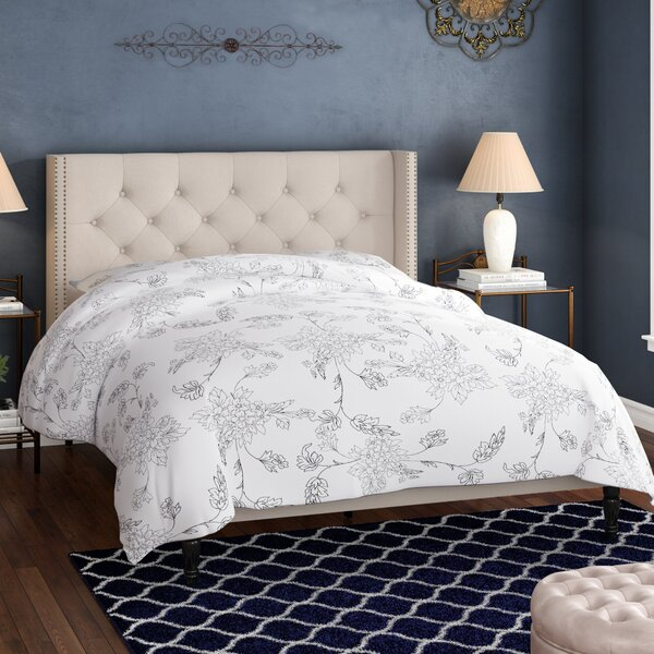 Medeiros Upholstered Platform Bed by Alcott Hill