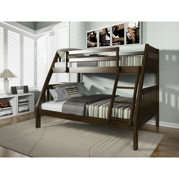 Edgeworth Twin Over Full Bunk Bed by Harriet Bee