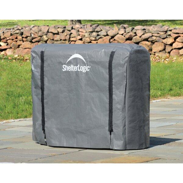Firewood Rack Full Length Cover By ShelterLogic