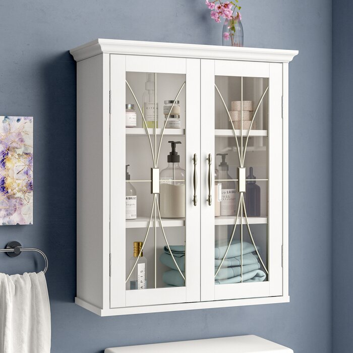 Willa Arlo Interiors Whipple Bathroom Wall Cabinet (White)