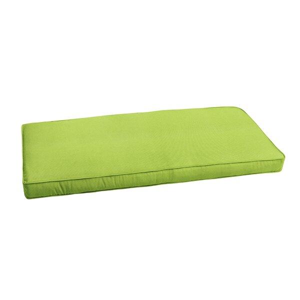 Outdoor Sunbrella Bench Cushion by Latitude Run