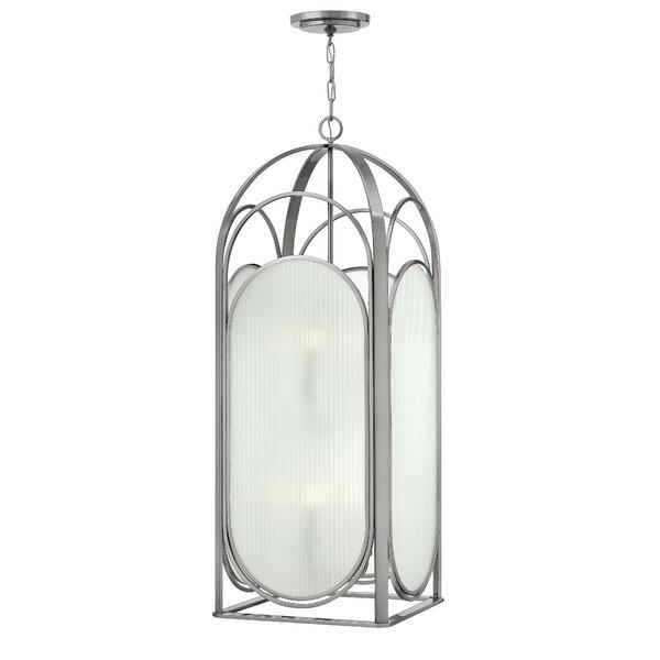 Astor 8 - Light Lantern Rectangle Chandelier by Hinkley Hinkley