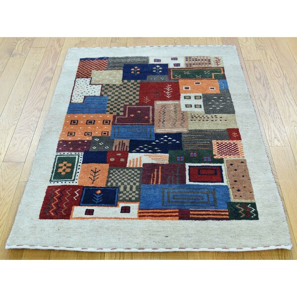 One-of-a-Kind Becker Lori Buft Handwoven Wool Area Rug by Isabelline