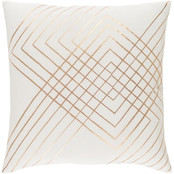 Caressa Glamorous Cotton Throw Pillow by Willa Arlo Interiors