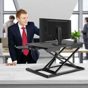 Wimbish Adjustable Work Station Standing Desk Converter