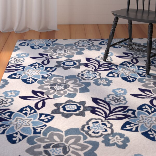 Dazey Blue/White Indoor/Outdoor Area Rug by August Grove