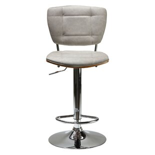 Salmeron Adjustable Height Swivel Bar Stool by Orren Ellis