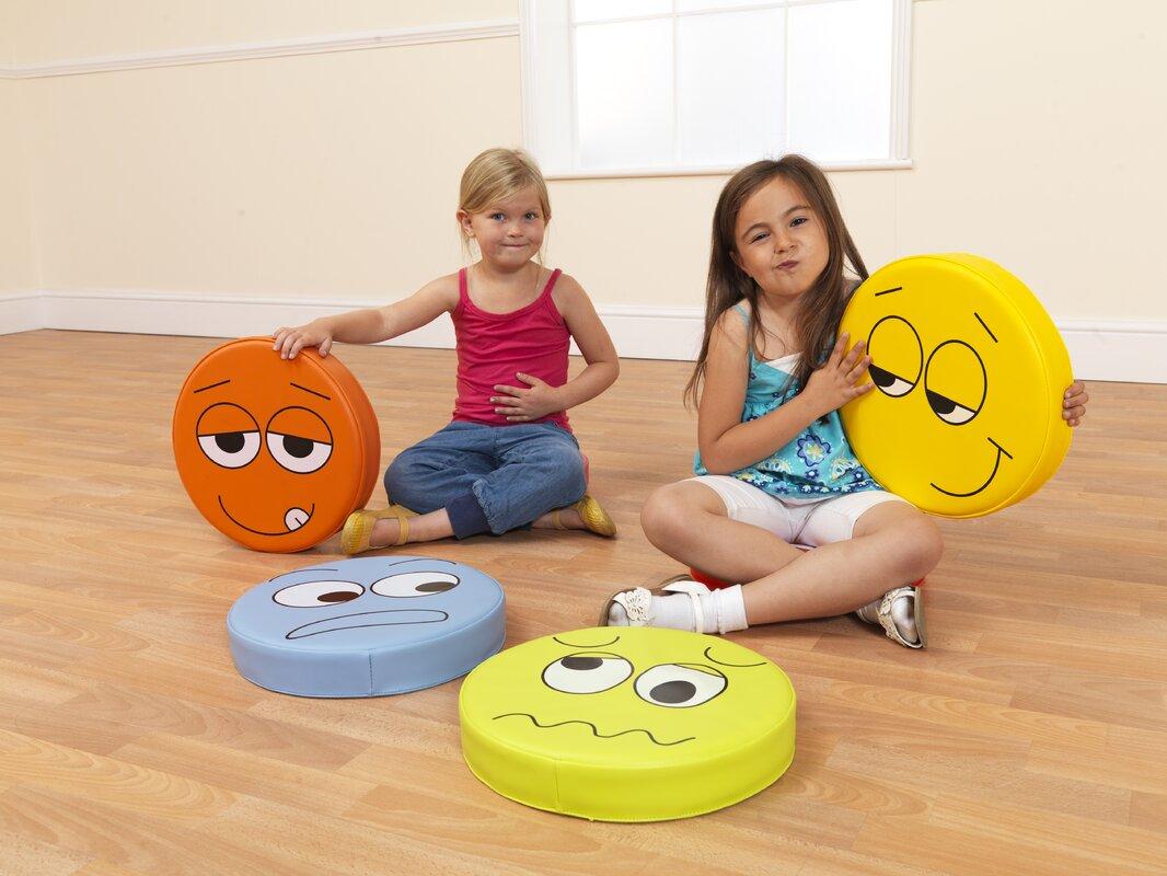 Kalokids emotions kids cotton floor cushion reviews for Floor kids review