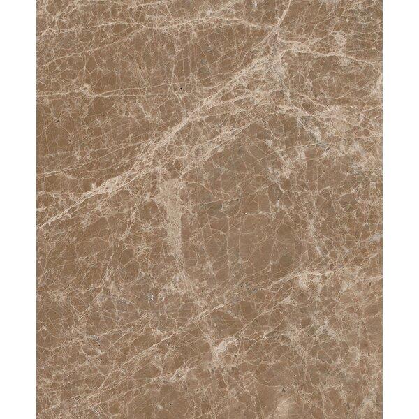 Emperador Light 12 x 24 Marble Field Tile in Beige by Seven Seas