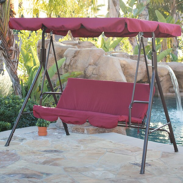 Canopy Porch Swing with Stand by Belleze