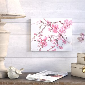 'Flowers 3' Painting Print by Ophelia & Co.