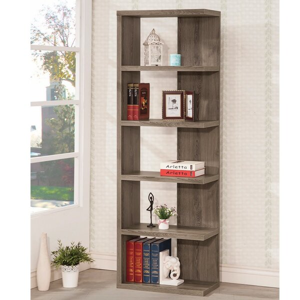 Hornyak Wooden Corner Unit Bookcase by Winston Porter