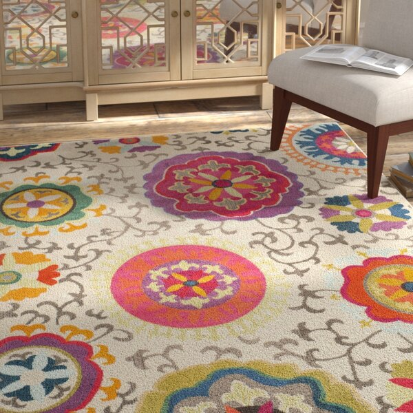 Alfred Area Rug by Bungalow Rose