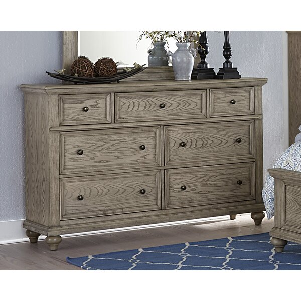 Lorsworth 7 Drawers Double Dresser by Greyleigh