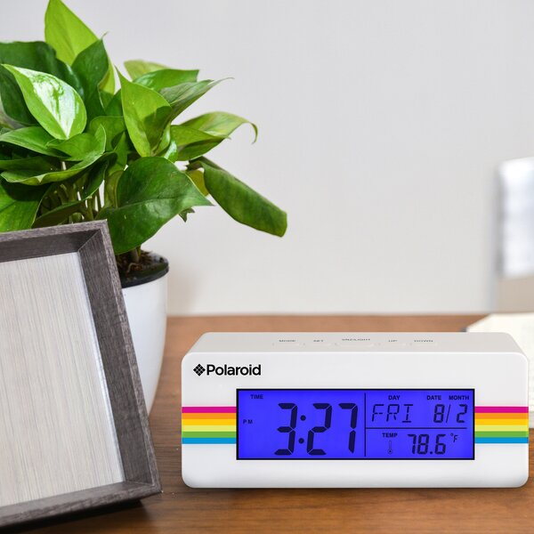 Digital Alarm Clock by Polaroid