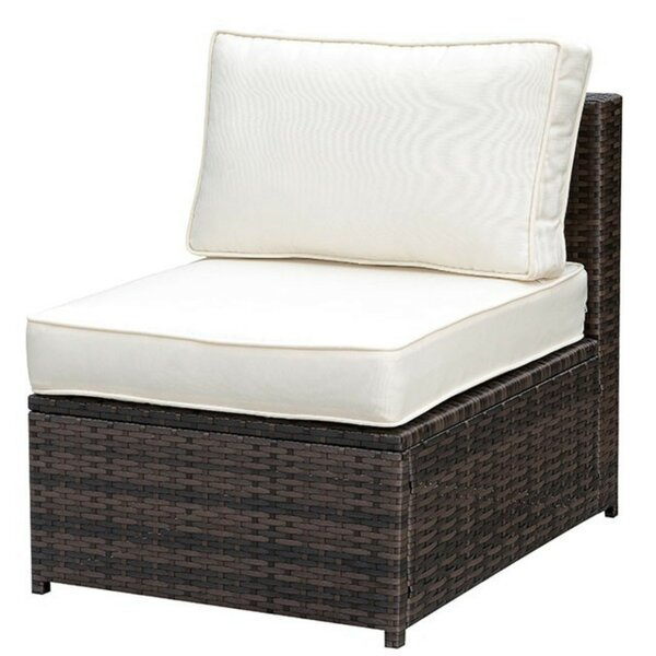 Carnforth Aluminum Frame Patio Armless with Cushions by Highland Dunes