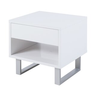 Affordable Sylwia End Table with Storage By Orren Ellis