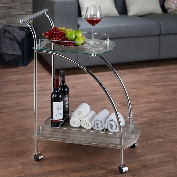 Saez Bar Cart by Ebern Designs