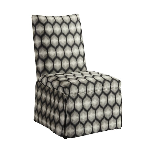 Mackenzie Skirted Upholstered Dining Chair by Barclay Butera