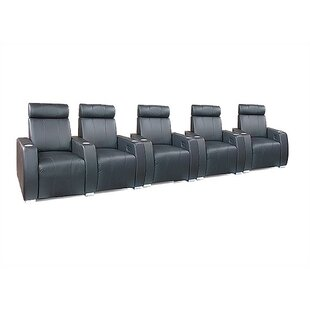 Executive Home Theater Lounger Row of 5  by Bass