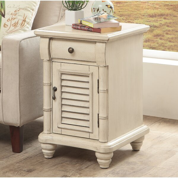 Nadler 1 Door 1 Drawer End Table by Rosecliff Heights