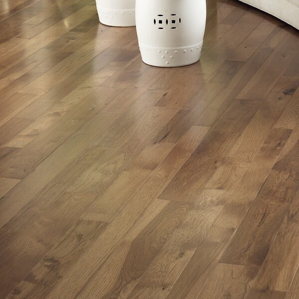 Character 3-1/4 Engineered Hickory Hardwood Flooring in Hickory Saddle by Somerset Floors