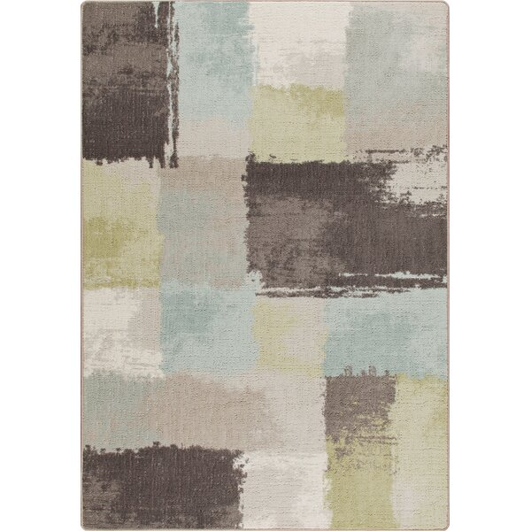 Mix and Mingle Coastal Fair And Square Rug by Milliken