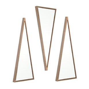 Wrought Studio 3 Piece Fielder Mirror Set