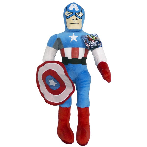 Avengers Captain Amercia Movie Pillow by Marvel