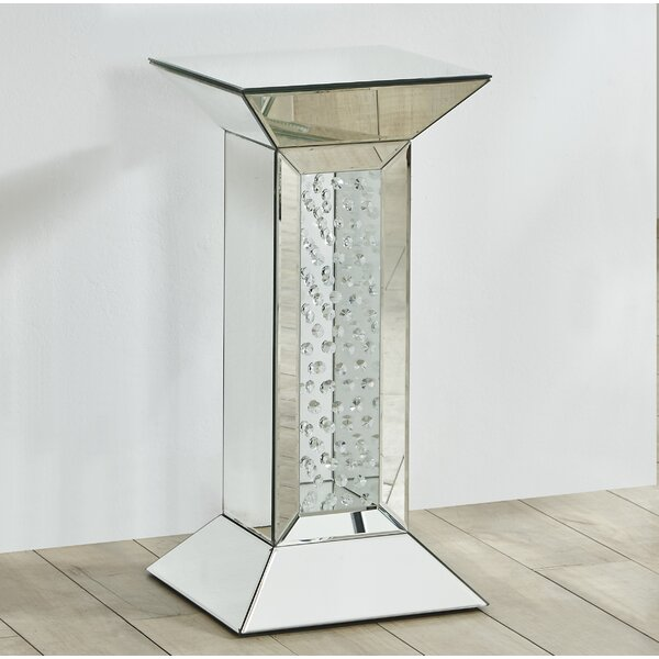 Latrell Crystal End Table by Rosdorf Park