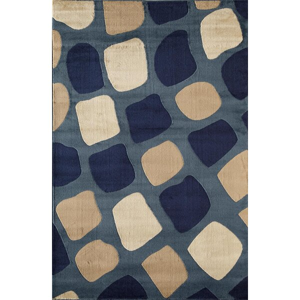 Allston Blue/Sand Area Rug by Threadbind