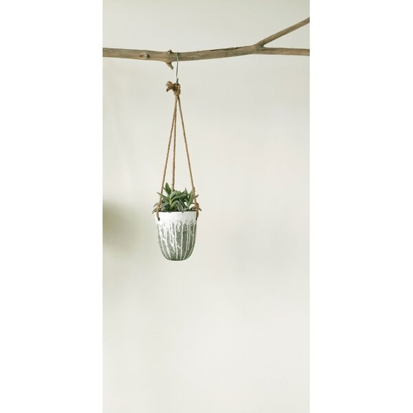 Beaulah Terracotta Hanging Planter by Mistana