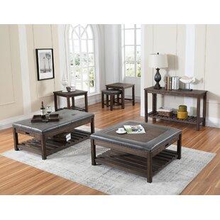 Crabill 4 Piece Coffee Table Set Red Barrel Studio