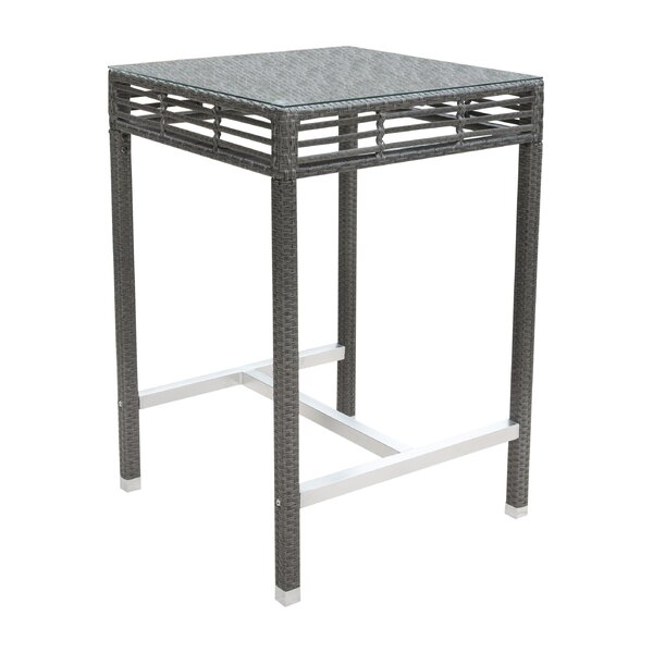 Graphite Bar Table by Panama Jack Outdoor
