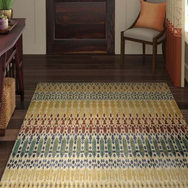 Maroc Columbia Yellow Area Rug by World Menagerie