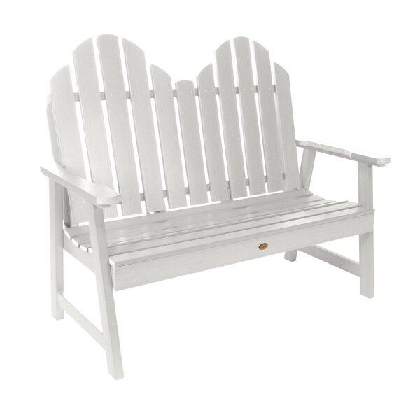 Classic Westport Plastic Garden Bench by Highwood USA