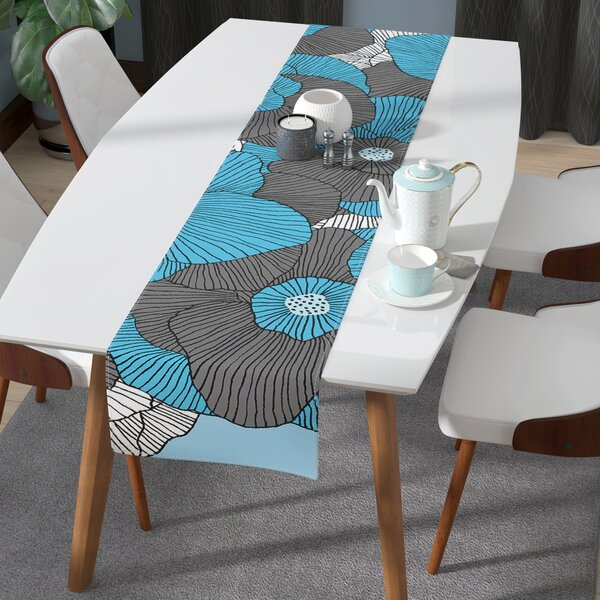 Skye Zambrana in Bloom Table Runner by East Urban Home