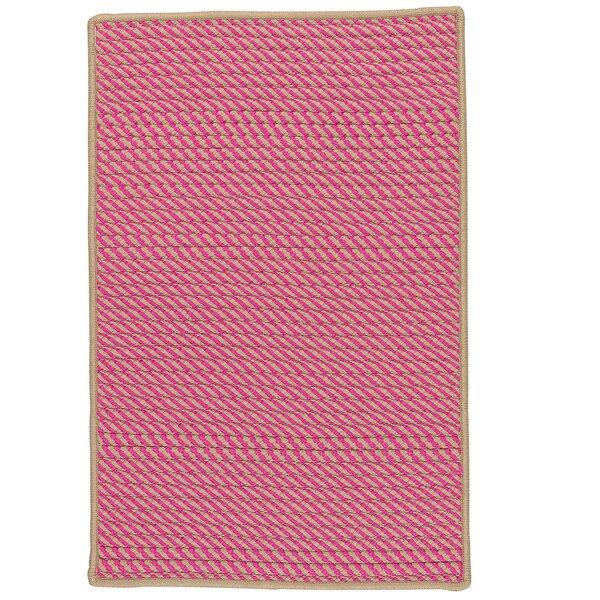 Mammari Hand-Woven Pink Indoor/Outdoor Area Rug by Bay Isle Home