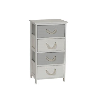 Couture 4 Drawer Accent Chest by Highland Dunes