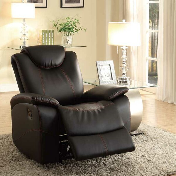 Leppert Manual Glider Recliner by Red Barrel Studio