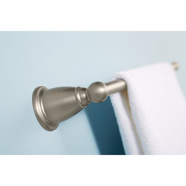 Brantford 24 Wall Mounted Towel Bar by Moen
