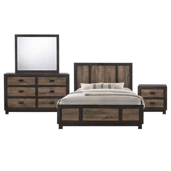 Llewellyn Panel 4 Piece Bedroom Set by Gracie Oaks