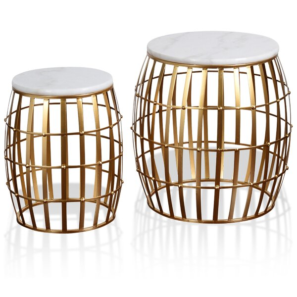 Tifany 2 Piece Nesting Tables (Set Of 2) By Mercer41