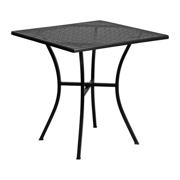 Strassen Metal Bistro Table by Ebern Designs
