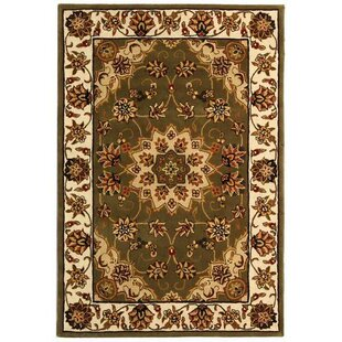 Affordable Price Traditions TD610A Green / Ivory Oriental Rug By Safavieh